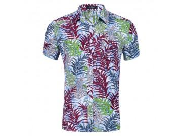 Camisa Floral Masculina - Multicor