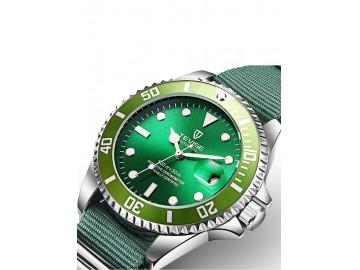 Relógio Tevise T801NL Masculino Automático Pulseira de Nylon - Verde
