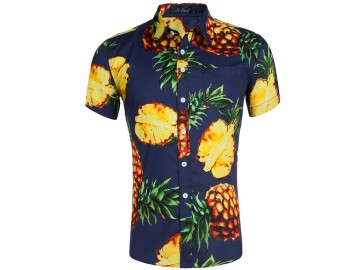 Camisa Estampada Masculina - Tropical