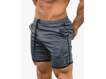 Short Masculino Casual - Cinza
