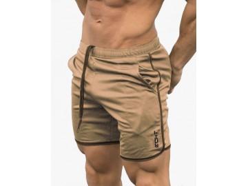 Short Masculino Casual - Cáqui