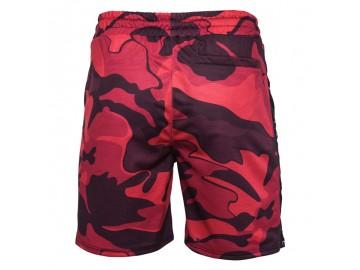 Bermuda Masculina Camuflagem - Vermelho