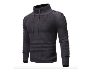Pullover Masculino Raglan - Cinza