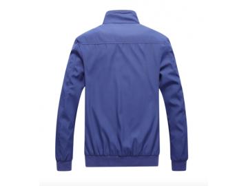 Jaqueta Masculino Bomber forro Xadrez - Azul
