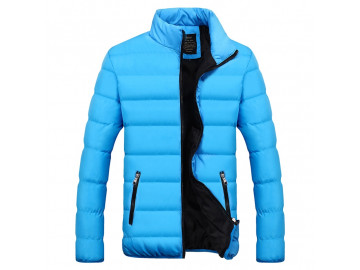 Jaqueta Bomber Snow - Azul Claro