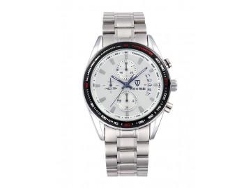 Relógio Tevise 8385 Masculino Automático Pulseira de Aço - Branco