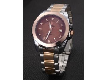Relógio Tevise  8373C Masculino Automático Pulseira de Aço - Rosé