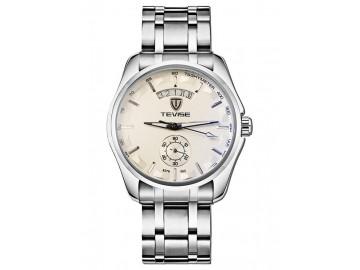 Relógio Tevise  8379-002 Masculino Automático Pulseira de Aço - Branco