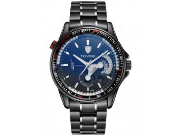 Relógio Tevise 8501-001 Masculino Automático Pulseira de Aço - Preto