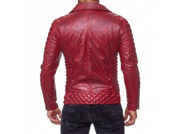 Jaqueta Masculina Design Alto Relevo - Red