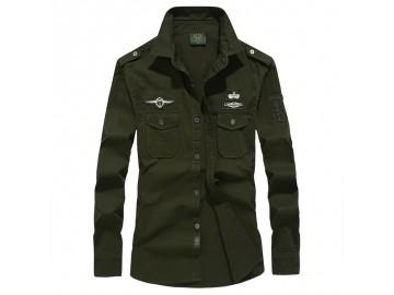 Jaqueta Masculina De Algodão - Verde Exército